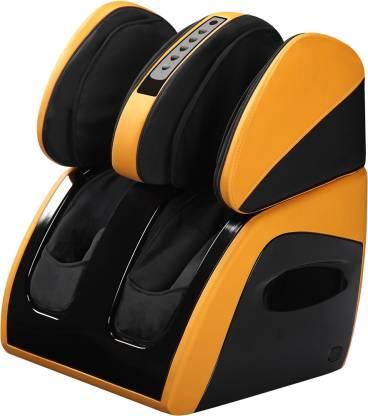 LEOREST LIS0002 Leorest Leg, Foot & Calf Massager With Air Bag Technology Yellow Colour Massager
