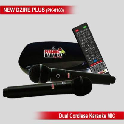 Persang Karaoke New Dzire Plus (PK-8163) Microphone