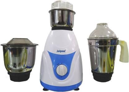 Jaipan Kitchen King JKK-1100 500 W Mixer Grinder (3 Jars, White)
