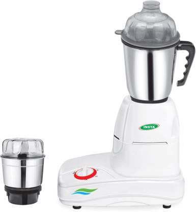 Insta 2 Jar Dynamic 500 W Mixer Grinder (2 Jars, Multicolor)