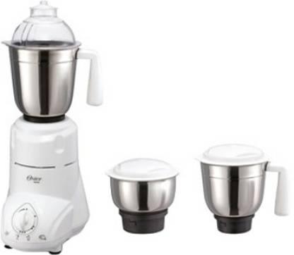 Oster MGSTSL5020-449 650 W Mixer Grinder (3 Jars, White and Black)