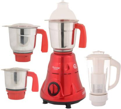 Rotomix NEW-MG16 41 RTM-MG16 41 600 W Mixer Grinder (4 Jars, Red)
