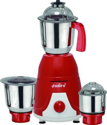 DESiRE GX 1 IPL Top 550 W Mixer Grinder (3 Jars, Red)