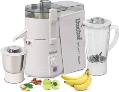 Unichef JMG SM Juice-O-Matic Plus SM Series 835 W Juicer Mixer Grinder