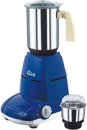 Maggi Rio 550 W Juicer Mixer Grinder (2 Jars, Blue)