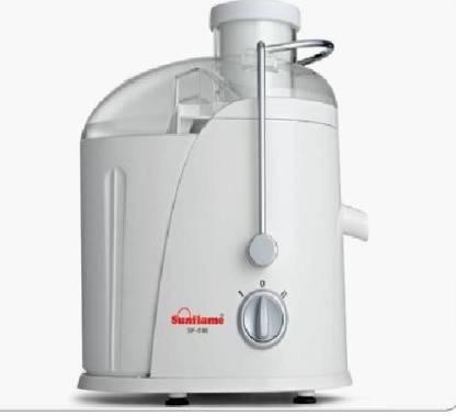 SUNFLAME - White 400 W Juicer (1 Jar, White)