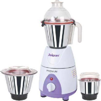 Jaipan JX 4 Premium High Performance 750 W Mixer Grinder (3 Jars, Purple, White)