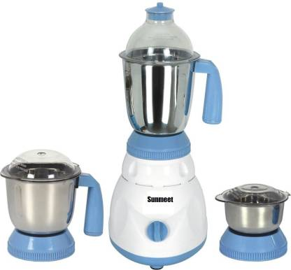 Rotomix NEW-MG16 131 RTM-MG16 131 1000 W Mixer Grinder (3 Jars, White, Blue)