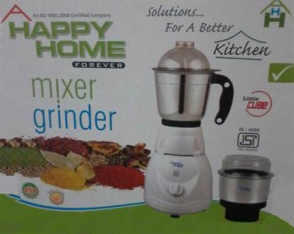 Happy Home Happy Home Mg1 Little Cube 450 W Mixer Grinder