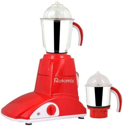 Rotomix New_MG16-563 MG16-563 600 W Mixer Grinder (2 Jars, Red)