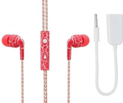 TrendyIndia Headphone Accessory Combo for HTC Desire 628