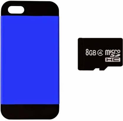 Easy2Sync Apple iPhone 5C ( inkblue-5C-Memory8GB ) Accessory Combo