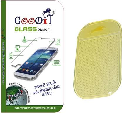 GooDiT??? Tempered Glass With Antislip Mat For Motorola Moto E Dual Sim Accessory Combo