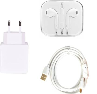 Mudit Retail Ventures Wall Charger Accessory Combo for Apple iPhone 5C