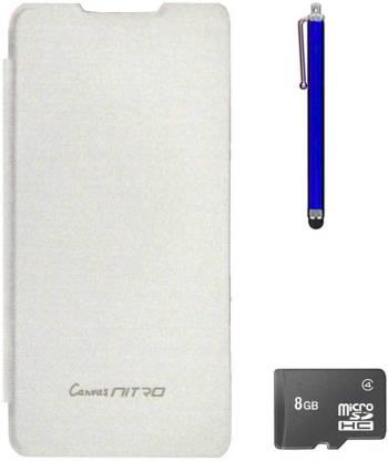 TBZ Cover Accessory Combo for Micromax Canvas Nitro A311