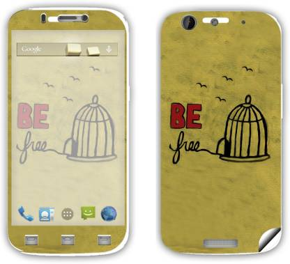 SKINTICE Micromax Canvas Gold-A300 Mobile Skin