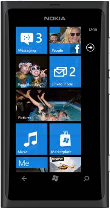 Nokia Lumia 800 (Matt Black, 16 GB)