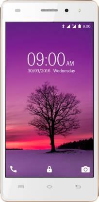 LAVA A72 4G (White & Gold, 8 GB)