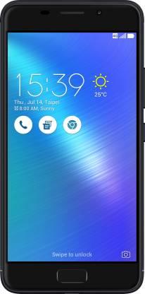 ASUS Zenfone 3s Max (Black, 32 GB)