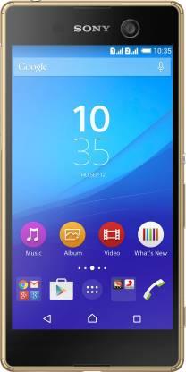 SONY Xperia M5 Dual (Gold, 16 GB)