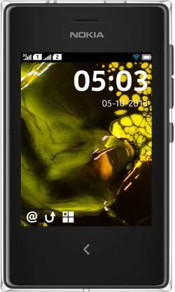 Nokia Asha 503 (Black, 128 MB)