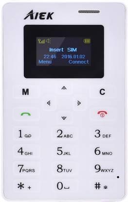 AIEK M5 Credit Card Size