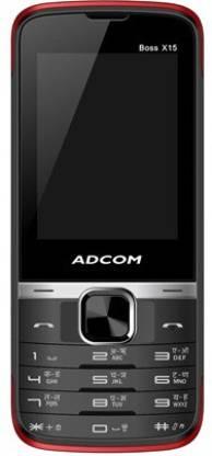 ADCOM X15 (Boss) Dual Sim Mobile-Black & Red