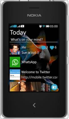 Nokia Asha 500 (White, 64 MB)