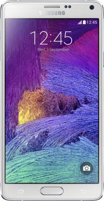 SAMSUNG Galaxy Note 4 (Frost White, 32 GB)