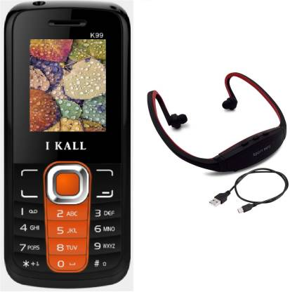 I Kall K99 with MP3/FM Player Neckband