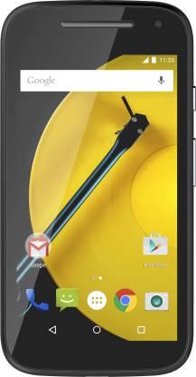 Moto E (2nd Gen) 3G (Black, 8 GB)