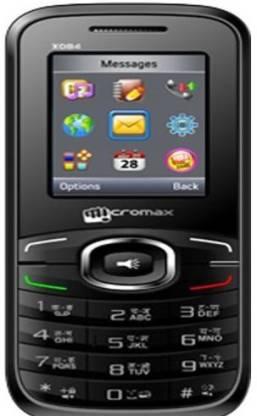 Micromax X084 Black,Red (Red, Black, 40 MB)