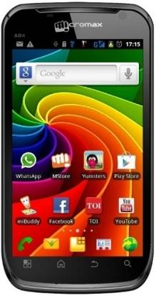 Micromax Superfone Elite A84 (Black, 134 MB)