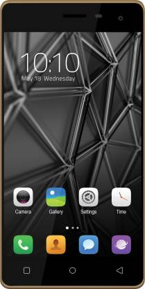 Celkon Millennia Q599 (Gold+Black, 8 GB)