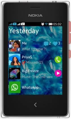 Nokia Asha 502 (Bright Red, 64 MB)