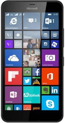 MICROSOFT Lumia 640 XL LTE (Black, 8 GB)