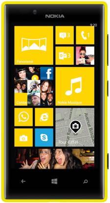 Nokia Lumia 720 (Yellow, 8 GB)