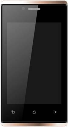 KARBONN A202 Dual Sim - Black & Gold (White, Gold, 512 MB)
