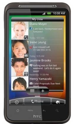 HTC Desire HD (Dark Brown, 1.5 GB)