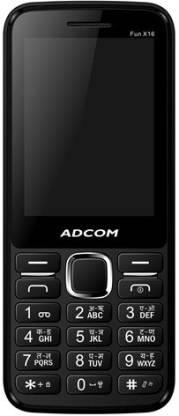 ADCOM X16 (Fun) Dual Sim Mobile-Black