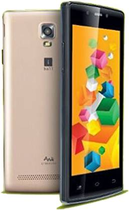 iball Andi 4.5 O Buddy (Black Gold, 1 GB)
