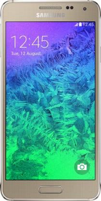 SAMSUNG Galaxy Alpha (Frosted Gold, 32 GB)