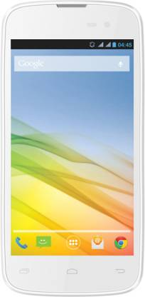 LAVA Iris 450 (White & Pink, 4 GB)