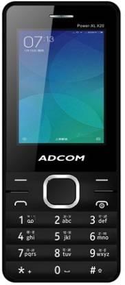 ADCOM X20 (POWER XL) Dual Sim Mobile- Black