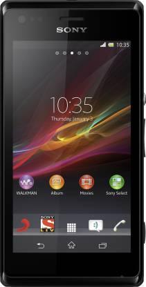 SONY Xperia M Dual (Black, 4 GB)