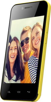 Celkon Campus One A354C (Yellow, 512 MB)