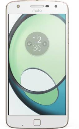 Moto Z Play with Style Mod (White, 32 GB)