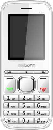 KARBONN K2S Dual Sim - White & Grey