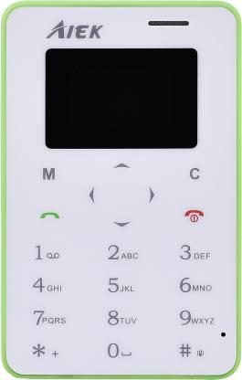 AIEK X6 Credit Card Size