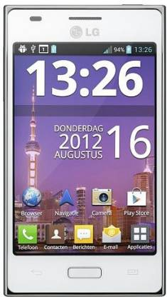 LG Optimus L5 E612 (White, 4 GB)